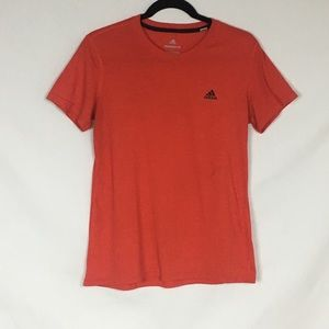 ADIDAS Ultimate 2.0 T Shirt Coral Top Size Large